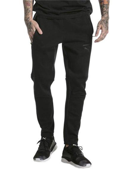 70160d55145c Buy Puma Black Cotton Trackpants for Mens Apparel Online   Tata CLiQ