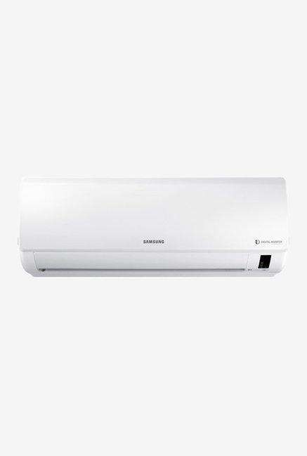 Samsung 1 Ton Inverter 3 Star (BEE rating 2018) AR12NV3HFWK Copper Split AC (White)