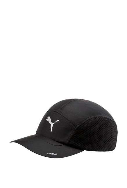 Puma Duocell Black Solid Polyester Trucker Cap