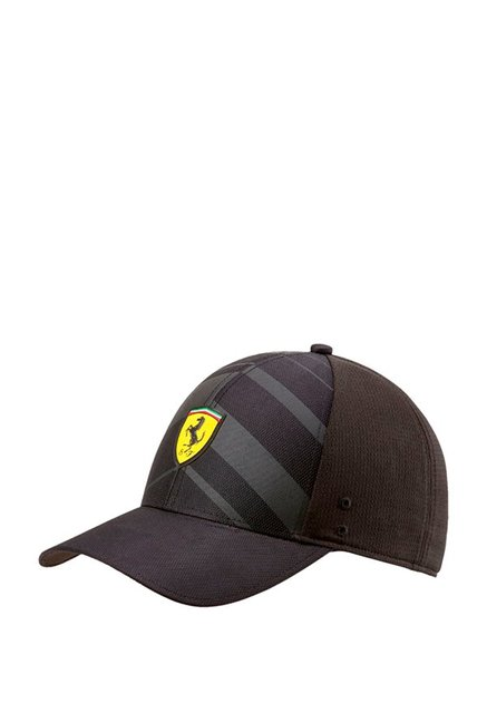 Puma SF Fanwear Black Applique Polyester Baseball Cap