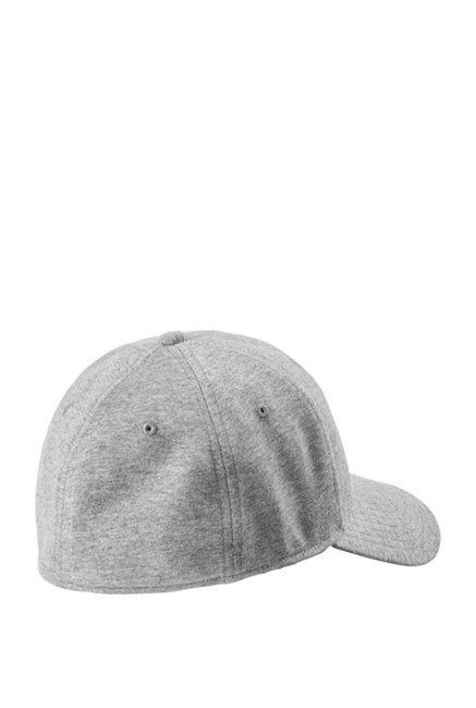 a6d70a1e Buy Puma Stretchfit Grey Heather Solid Cotton Gus Cap Online At Best ...