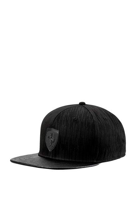 49efc5df Buy Puma SF LS Black Printed Cotton Baseball Cap Online At Best ...