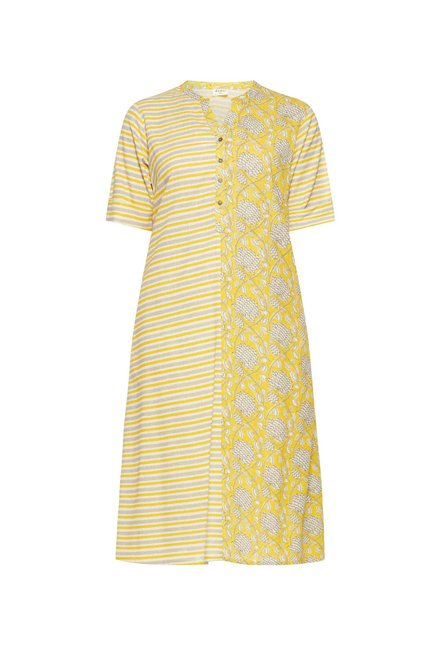 Diza curve by Westside Yellow Kurta
