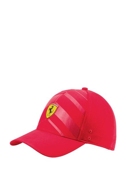 e529b50b149 Buy Puma SF Fanwear Rosso Corsa Red Applique Baseball Cap Online At Best  Price   Tata CLiQ