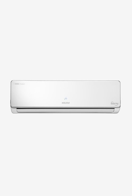 54de8405606 Buy Voltas 1.0 Ton Inverter 4 Star (2018) 124VSZS Copper Split AC Online At  Best Price   Tata CLiQ