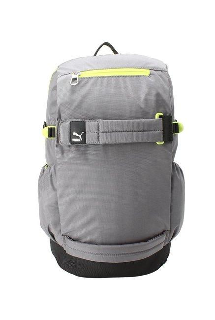 0cf0235746 Buy Puma Evo Blaze Light Grey   Black Solid Laptop Backpack ...