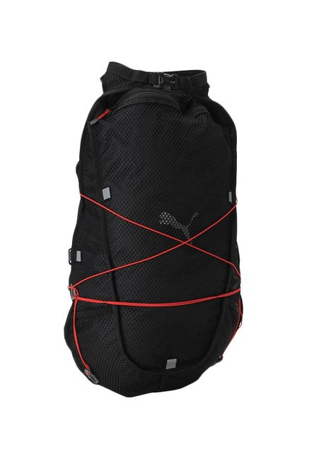 5509b49d50 Buy Puma PR Net Fit Black Textured Polyester Backpack Online At Best ...