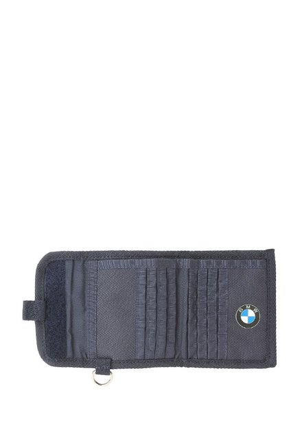 ed7ed5d901 Buy Puma BMW Motorsport Blue Textured Tri-Fold Wallet Online At Best ...