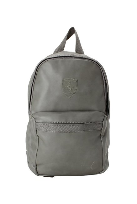 f427c91369 Buy Puma SF LS Zainetto Asphalt Grey Solid Backpack For Women At Best Price  @ Tata CLiQ
