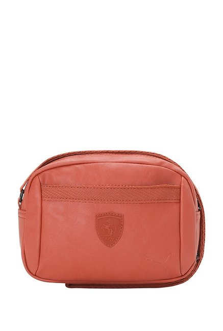 Buy Puma SF LS Red Solid Sling Bag For Women At Best Price   Tata CLiQ 19c700c438