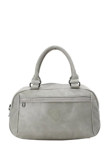 1a0bd14485 Buy Puma SF LS Light Grey Distressed Handbag For Women At Best Price   Tata  CLiQ