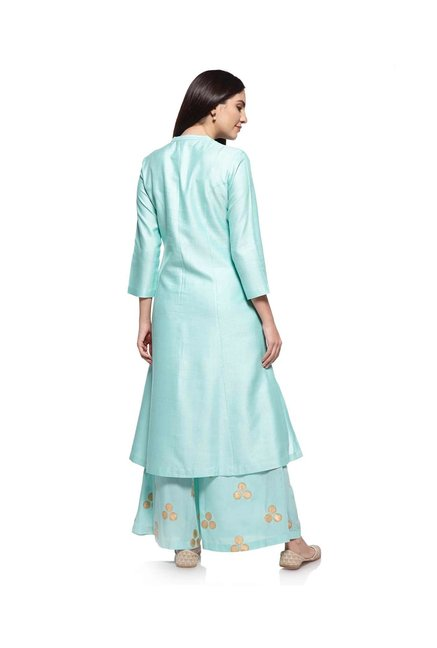 Zuba by Westside Mint Melange Kurta