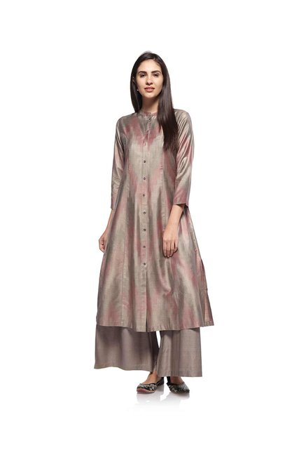 Zuba by Westside Dark Grey Kurta