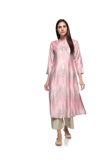 Zuba by Westside Light Pink Kurta