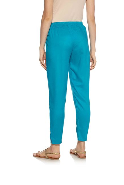 Zudio Teal Ethnic Pants