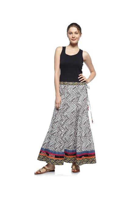 013686278d Buy Zudio Grey Slim Fit Ethnic Skirt for Women Online @ Tata CLiQ