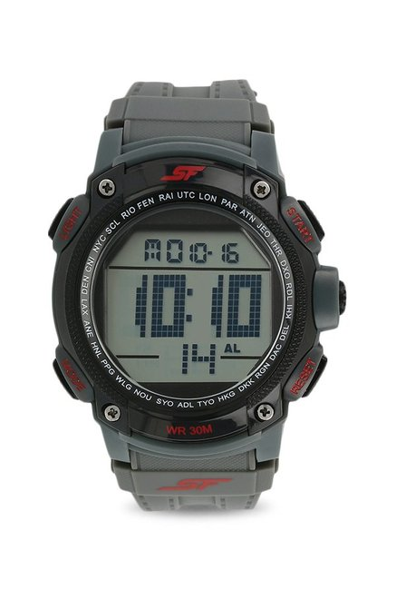 e3b13f7a691 Buy Sonata 77073PP02 Super Fibre Digital Watch for Men at Best Price   Tata  CLiQ