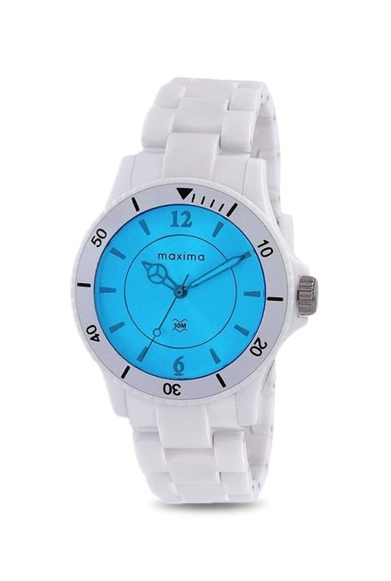 Maxima E-45991PPLN Hybrid Analog Watch for Women