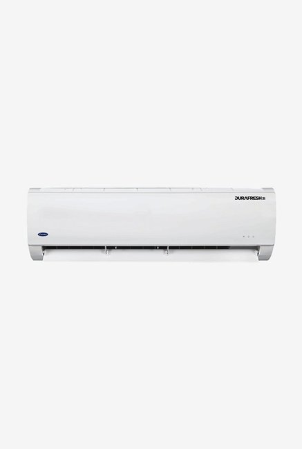 Carrier 1.5 Ton Inverter 3 Star (BEE rating 2018) DURAFRESH CAI18DF3N8F0 Copper Split AC (White)