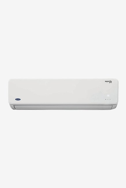 Carrier 1.0 Ton 3 Star (BEE rating 2018) SUPERIA PRO CAS12SU3J8F0 Split AC (White)