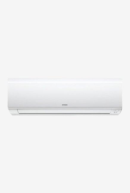 Hitachi 1.2 Ton 3 Star (BEE rating 2018) RSB314IBDO Copper Split AC (White)