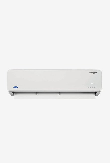 Carrier 2.0 Ton Inverter 3 Star (BEE rating 2018) SUPERIA PRO HYBRID CAI24SU3B8F0 Copper Split AC