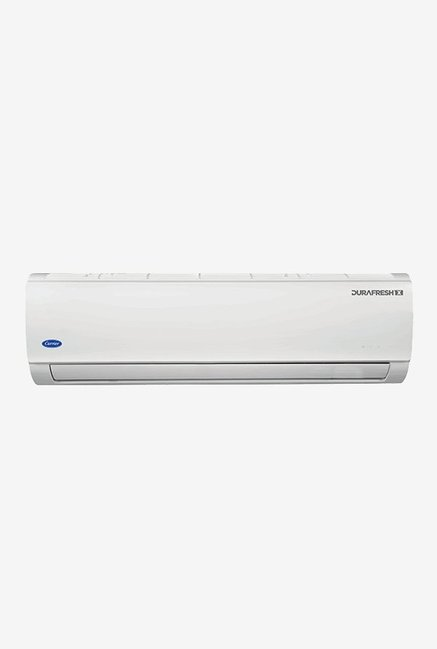 Carrier 1.0 Ton 3 Star (BEE rating 2018) DURAFRESHX CAS12DX3C8F0 Copper Split AC (White)