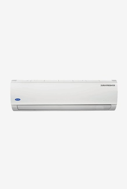 Carrier 1.5 Ton 3 Star (BEE rating 2018) DURAFRESHX CAS18DX3N8F0 Copper Split AC (White)