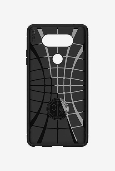 online retailer fde89 5ded7 Buy Spigen Armor Back Case Cover for LG V20 (Black) Online At Best ...