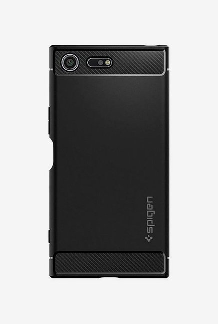 low priced 317b2 736a6 Buy Spigen Armor Back Case Cover for Sony Xperia XZ Premium (Black ...