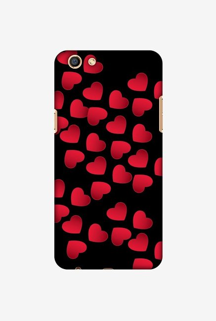 reputable site 011d2 ee0b8 Buy Amzer Floating Hearts Designer Case for Oppo F3 Online At Best ...