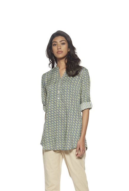 Utsa by Westside Green Kurti