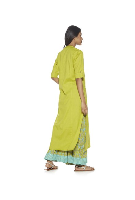 Utsa by Westside Lime Kurta