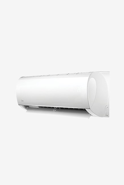 Midea 1.0 Ton 3 Star (BEE Rating 2017) Santis Plus MACS12SP3T4 Copper Split AC (White)