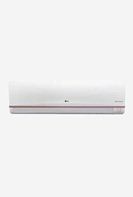LG 1.5 Ton Inverter 3 Star (BEE Rating 2018) JS-Q18VUXD Split AC (White)