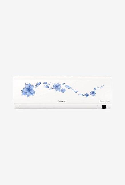 Samsung 1.5 Ton Inverter 5 Star (BEE Rating 2018) AR18NV5HRTR Split AC (White)