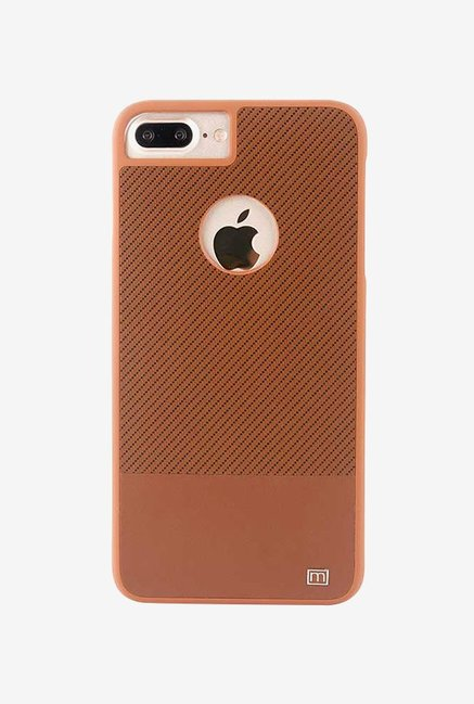 Marvelouxx Back Case Cover for Apple iPhone 7 Plus  Brown
