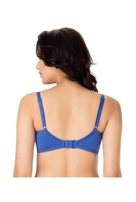PrettySecrets Blue Non-Wired Non-Padded Bra