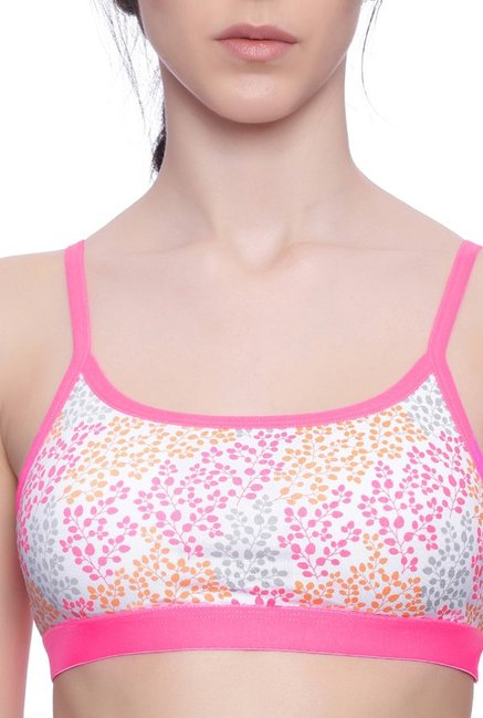 BRAG Pink Non Wired Padded T-Shirt Bra
