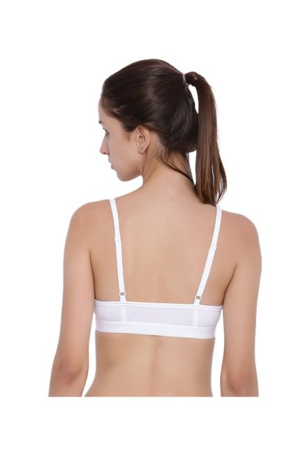 BRAG Black & White Non Wired Padded T-Shirt Bra (Pack Of 2)