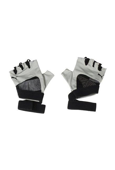 0b949c9099f3 Buy Puma En Pointe Rock Ridge Grey   Black Textured Gym Gloves For Women At  Best Price   Tata CLiQ
