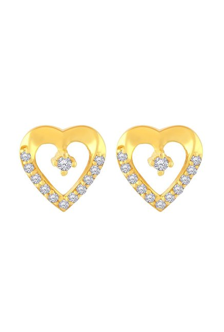 a409ecb06 Buy Malabar Gold and Diamonds 22k Gold Earrings Online At Best Price ...