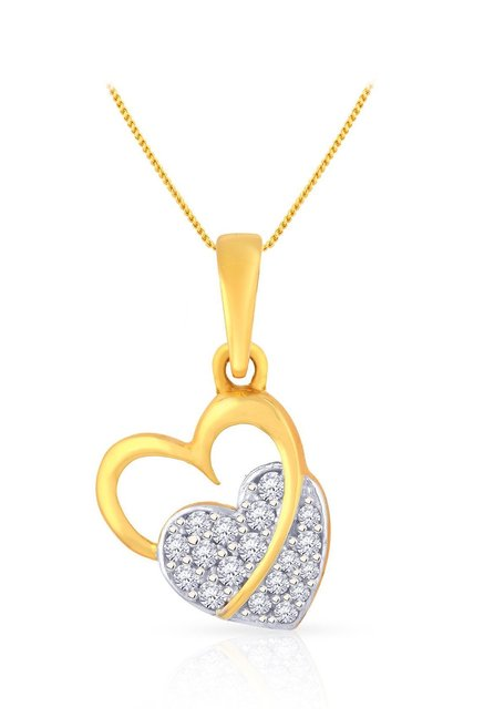 Malabar Gold and Diamonds 22k Gold Pendant