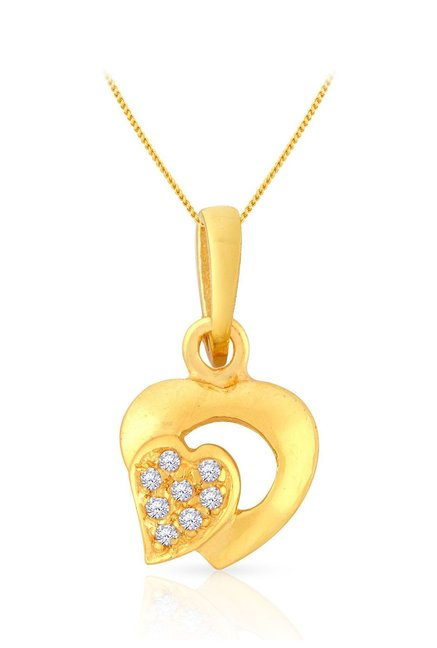 Malabar Gold and Diamonds 22k Gold Pendant