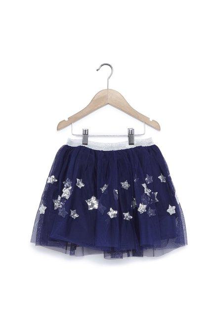 54c372825 Buy Zudio Dark Blue Tulle Skirt for Girls Clothing Online @ Tata CLiQ