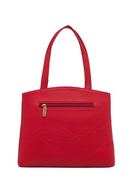 Esbeda Red Solid Handbag