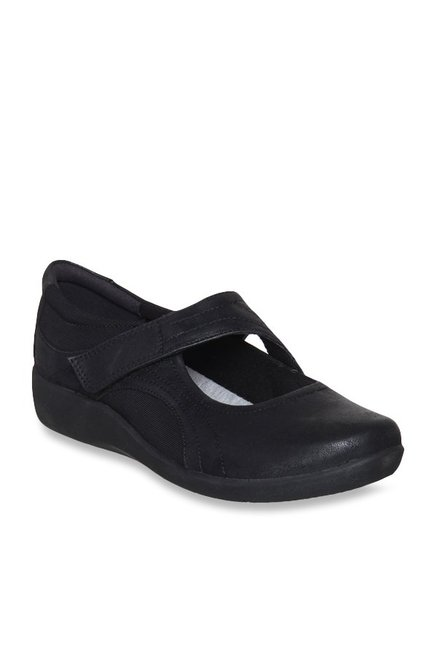 9fcf3de7439 Buy Clarks Sillian Bella Black Mary Jane Shoes for Women at Best ...