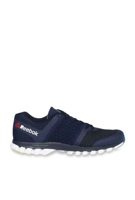 4aa857514ad Buy Reebok Sublite Transition Navy Running Shoes for Men at Best ...