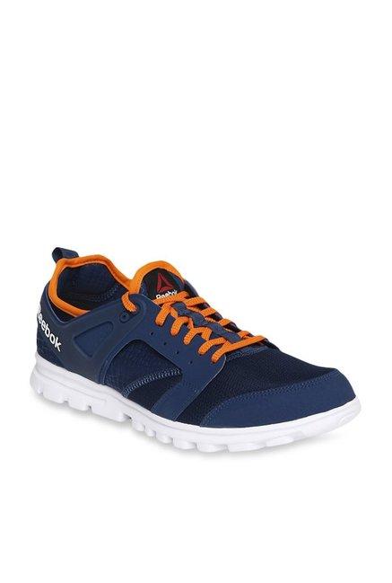 aa7f65b6c5c5 Buy Reebok Amaze Run Navy Running Shoes for Men at Best Price   Tata CLiQ