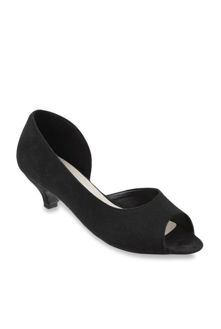 c0439380d01 Buy Metro Black D orsay Shoes for Women at Best Price   Tata CLiQ